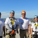 The Fools for Christ team members from left to right: Kevin Hendrickson, Paul Christian, Lou Florio, and Anne Jones.