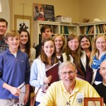 Epiphany Lutheran confirmation students take a trip to Salem, VA to meet the Bishop