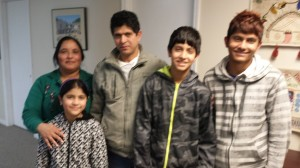 The Kadariya Family, the new homebuyers