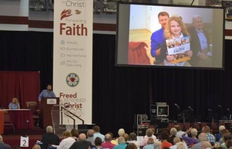 Pastor Dave Delaney, Pastor Paul Hendrickson and Dwayne Westerman